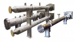 Ensemble de réchauffeurs de gaz pour régénération catalytique en continu (CCR)