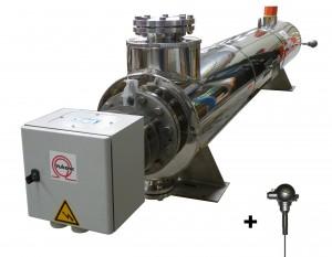 Réchauffeurs et sonde de température pour traitement des effluents primaires (TEP) et eaux usées (TEU)