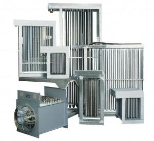 Batteries de chauffage d'air - Convecteurs - Aérothermes