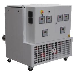 Vulcatherm, thermorégulateurs à eau chaud/froid 20/110°C 6 circuits indépendants