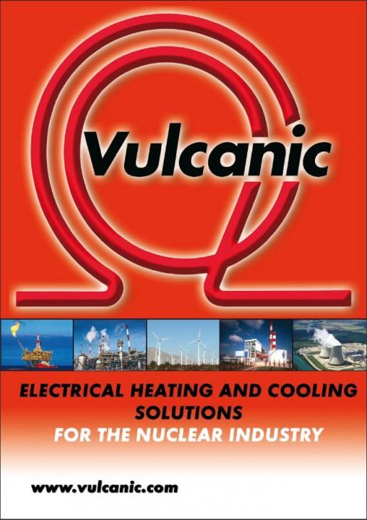 affiche de présentation de vulcanic