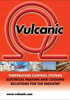 affiche de présenation de vulcanic