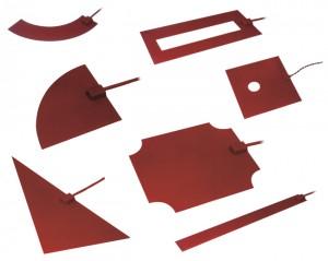 Tissus chaufffants silicone spéciaux