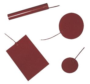 Tissus chauffants silicone standard