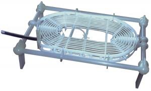 Thermoplongeur polymère fluoré horizontal