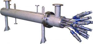 Réchauffeur de fluide en circulation de type compatherm ATEX