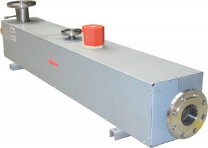 fluid circulation heaters with flange