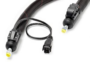 Connection heated hoses