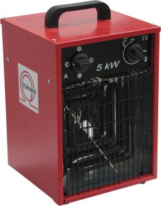 portable industrial fan heaters
