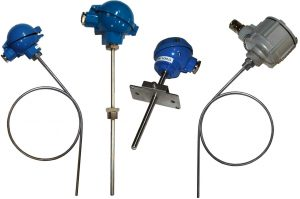 Pt100 sensors thermocouples