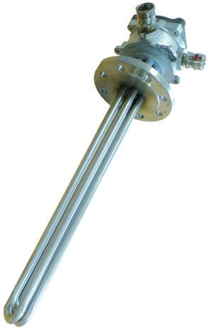 ATEX-zertifizierte Flanschheizkörper 1 Vulcanic
