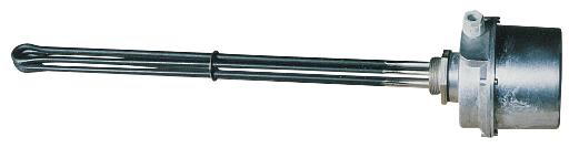 Einschraubheizkörper mit Anschlusskasten aus Aluminium Vulcanic