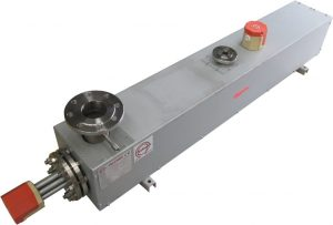 Calentadores de fluidos en circulación con brida y aislante de calor