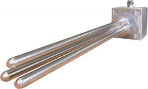Calentador de inmersión con un acabado superficial de 0,6 μm