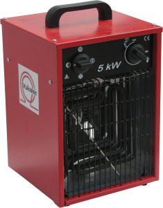 Calentadores de ventilador portátiles