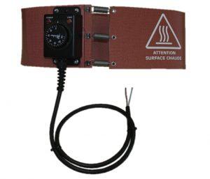 Cinturones calefactores flexibles