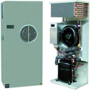 Unidades de aire acondicionado de montaje en parde